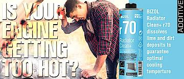 Is your engine running hot? BIZOL® Radiator Clean+ r70!