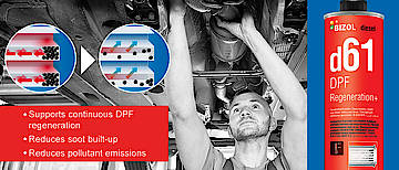 Car slow, high fuel consumption - Diesel particulate filter cleaning